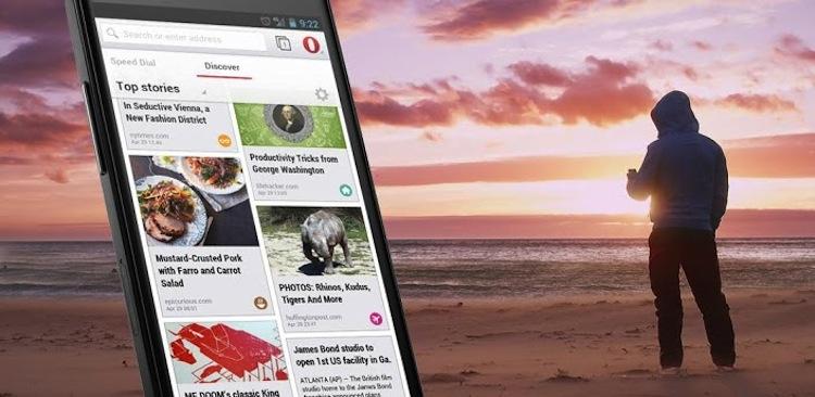 Opera 15 para Android es lanzado oficialmente - Opera-151