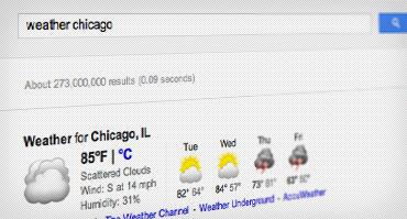 Prepárate para tu viaje con estos trucos de Google - check-weather
