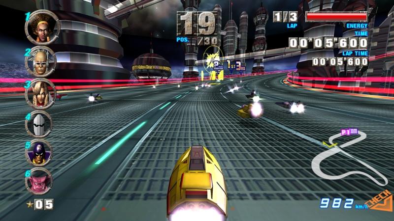 Los 10 mejores videojuegos de carreras - f-zero