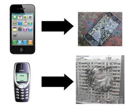 Pruebas de resistencia a celulares Nokia [Video] - memes-nokia-9