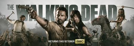 The Walking Dead y su cuarta temporada nos muestra su primer tráiler