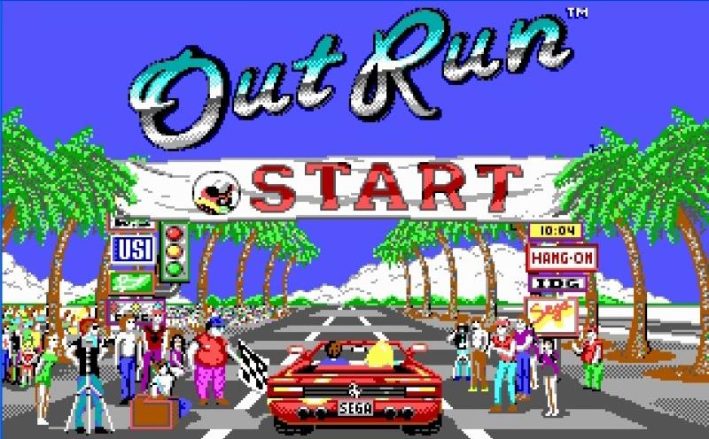 Los 10 mejores videojuegos de carreras - outrun