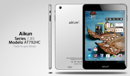 Acteck lanza su nueva tableta AIKUN AT792HC