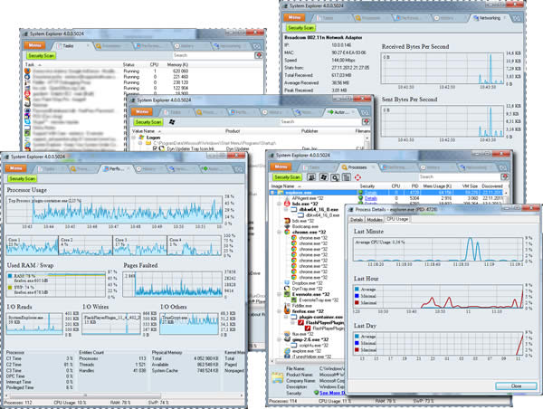 Herramientas para distinguir procesos desconocidos en Windows - system-explorer