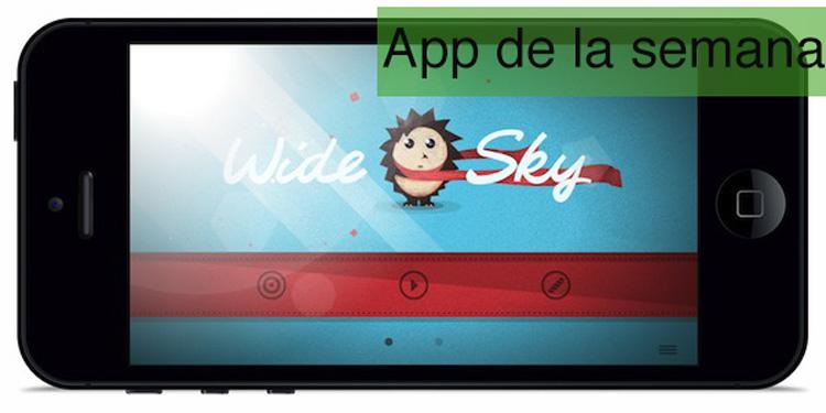 App de la semana en iOS: Wide Sky - wide-sky-app-de-la-semana