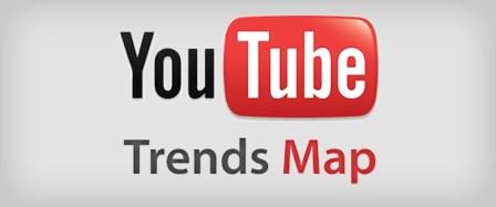 Ver los videos virales de YouTube con Trends Map