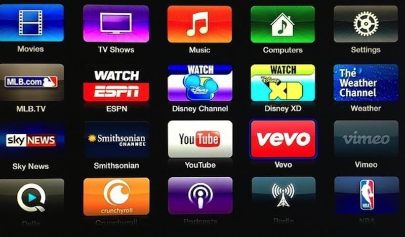 Apple TV se actualiza y agrega nuevos canales - Apple-TV-Vevo