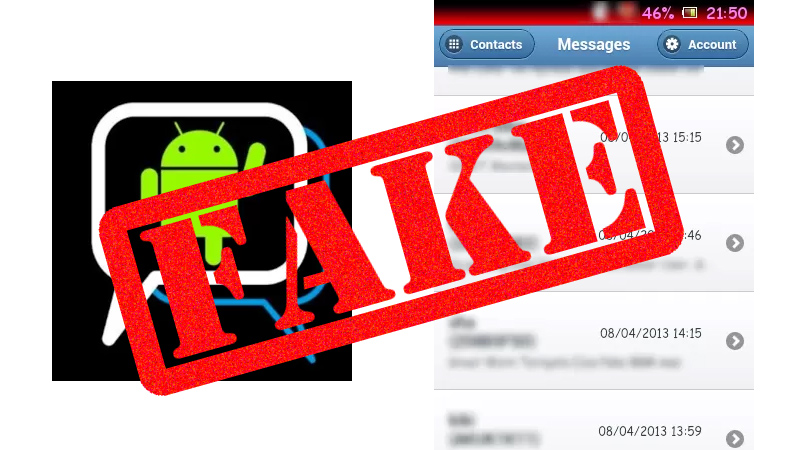 Aplicación falsa de BlackBerry Messenger para Android aparece en la Play Store. Evita ser estafado - BBM-android-app-fake