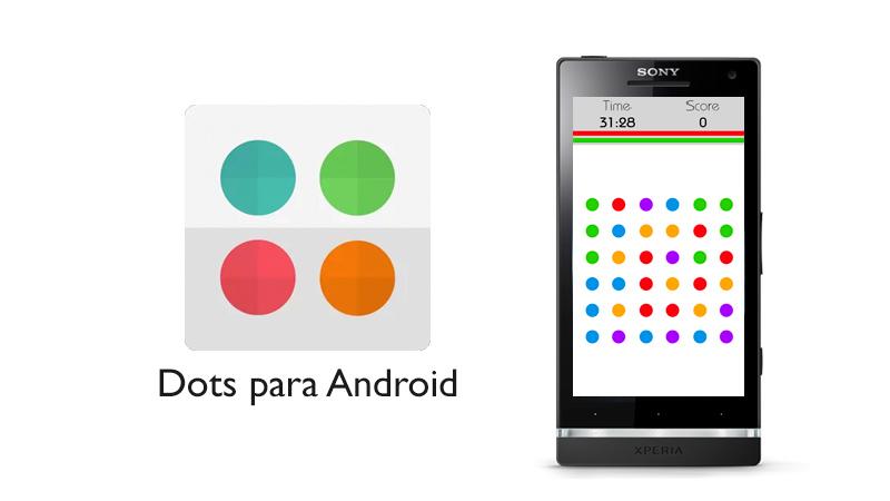 Dots, el juego adictivo de unir puntos de colores llega a Android - Dots-Android