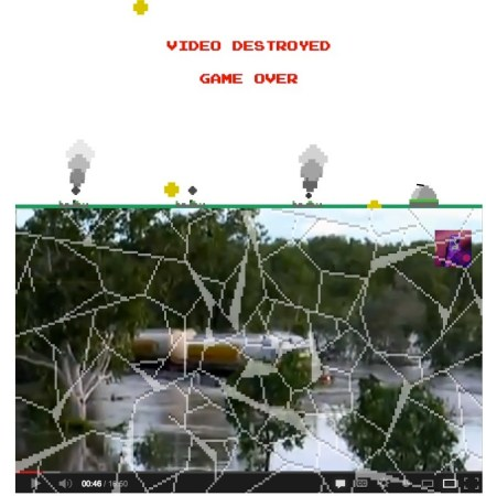 Jugar Missile Command de Atari en YouTube [Truco]