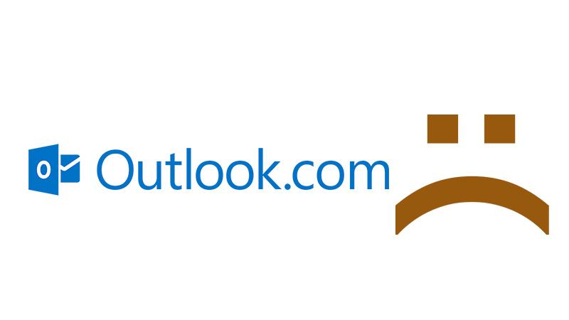 Outlook presenta problemas de acceso para los usuarios - Outloo-caido