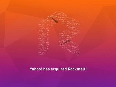 Yahoo! compra Rockmelt, el servicio que te mostraba lo mejor de la web según tus intereses