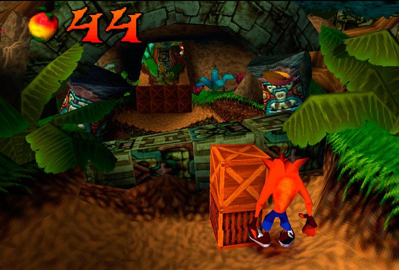 La evolución de los gráficos desde PlayStation 1 hasta la PlayStation 4 - ps1-crash-bandicoot