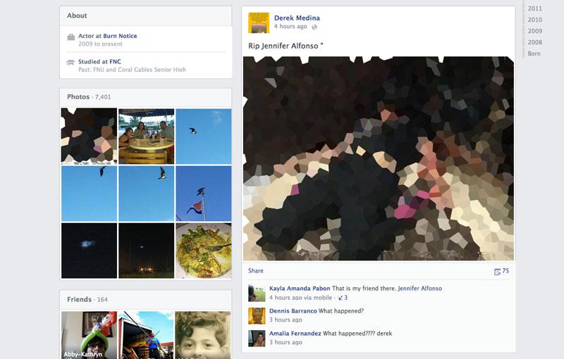 Hombre anuncia en Facebook que asesinó a su esposa - publica-esposa-muerta-facebook