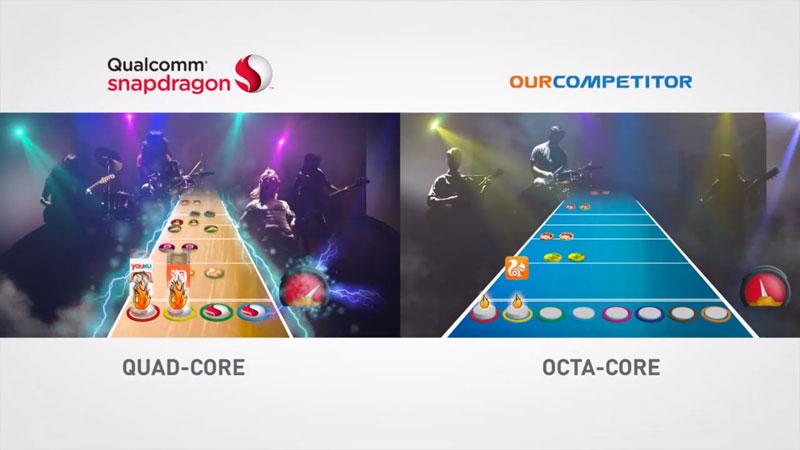 Qualcomm se burla de los procesadores de 8 núcleos y explica porque los suyos de 4 son mejores - snapdragon-4-nucleos