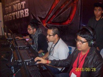La laptop ASUS G750 demostró su poderío en el torneo Republic of Gamers (ROG) - 100_3371_1