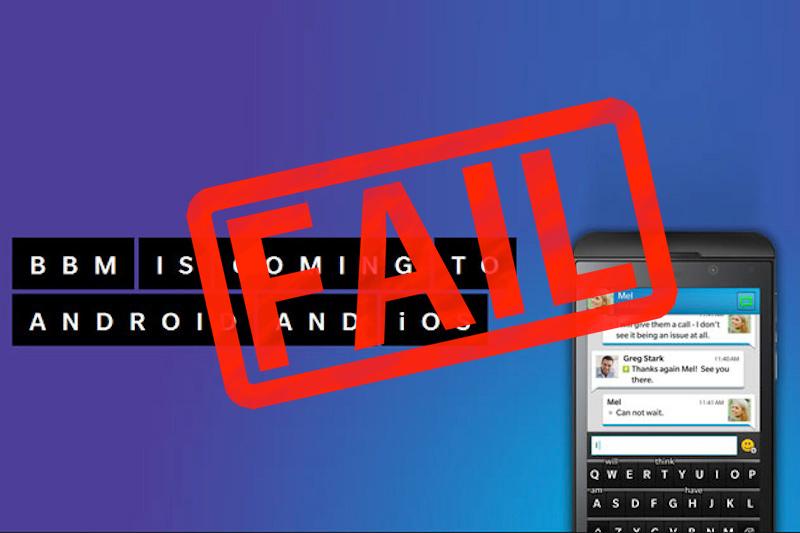 BBM Android iOS retrasado BlackBerry no da un golpe y retrasa indefinidamente el lanzamiento de BBM para Android
