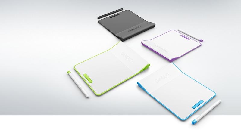 Wacom presenta la nueva tableta Bamboo Pad con entrada dos en uno - Bamboo-Pad-colores