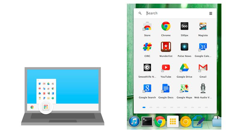 Chrome ahora soporta la instalación de aplicaciones de escritorio - Chrome-apps