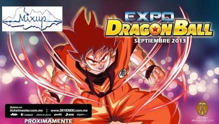Expo de Dragon Ball Z en México llega para conmemorar el estreno de Dragon Ball Z: La Batalla de los dioses