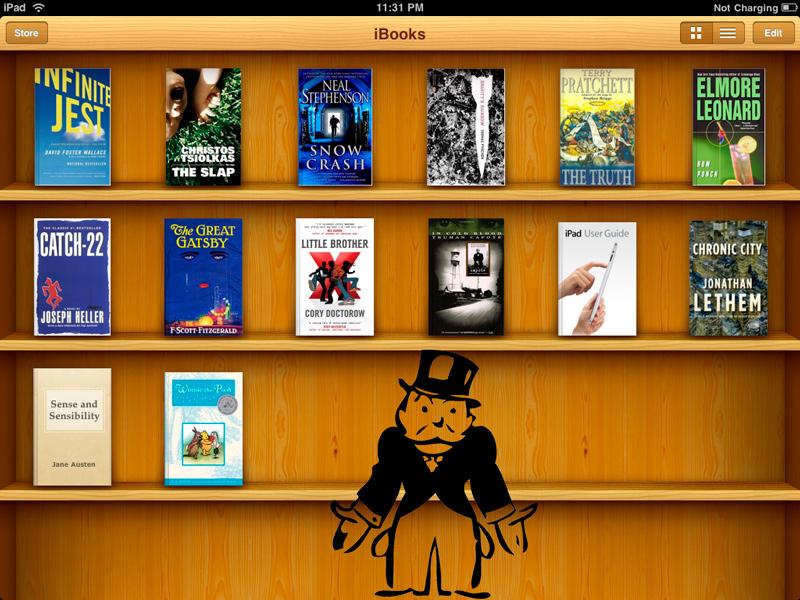 Ibooks Monopolio Apple encontrada culpable por monopolio en la venta de libros digitales