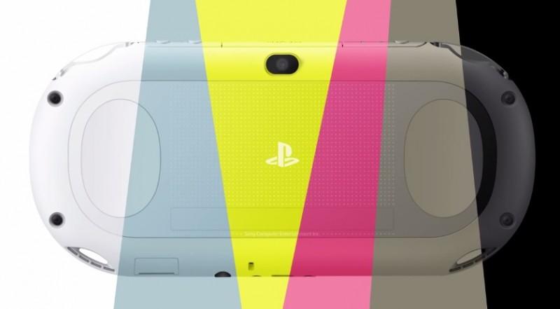 PS Vita colores 800x441 Sony rediseña la PS Vita y ahora está disponible en varios colores