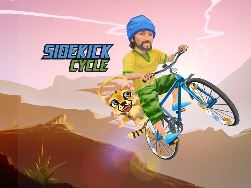 Un juego de iOS regala bicicletas reales en África - Sidekick-Cycle-Art
