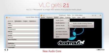 VLC, uno de los mejores reproductores multiplataforma se actualizó a la versión 2.1 con grandes mejoras