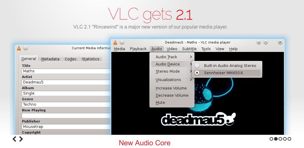 VLC 2 1 VLC, uno de los mejores reproductores multiplataforma se actualizó a la versión 2.1 con grandes mejoras