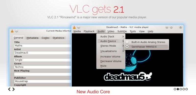 VLC, uno de los mejores reproductores multiplataforma se actualizó a la versión 2.1 con grandes mejoras - VLC-2-1