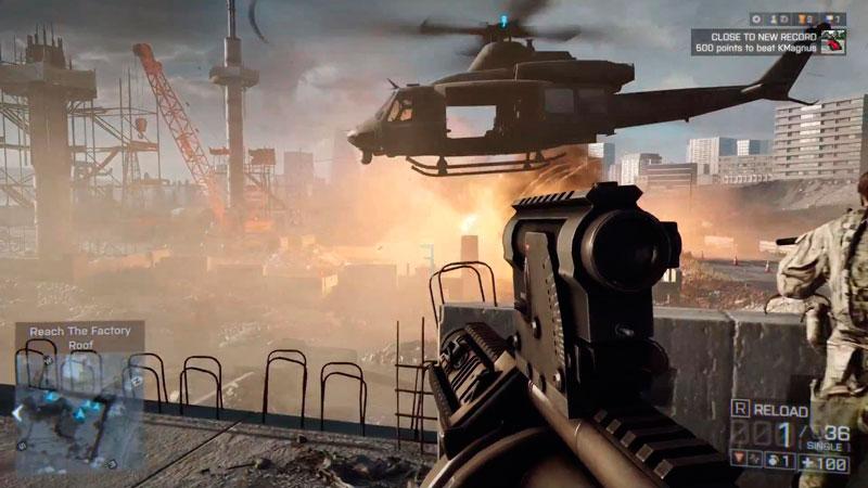 Electronic Arts muestra el multiplayer de Battlefield 4 - battlefield-4