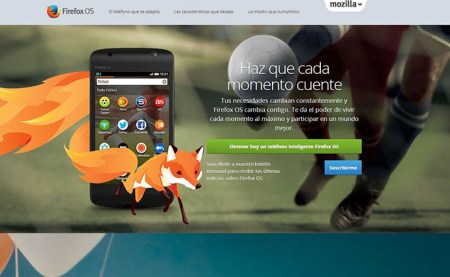 Mozilla regala un smartphone a todo desarrollador que porte una aplicación a Firefox OS