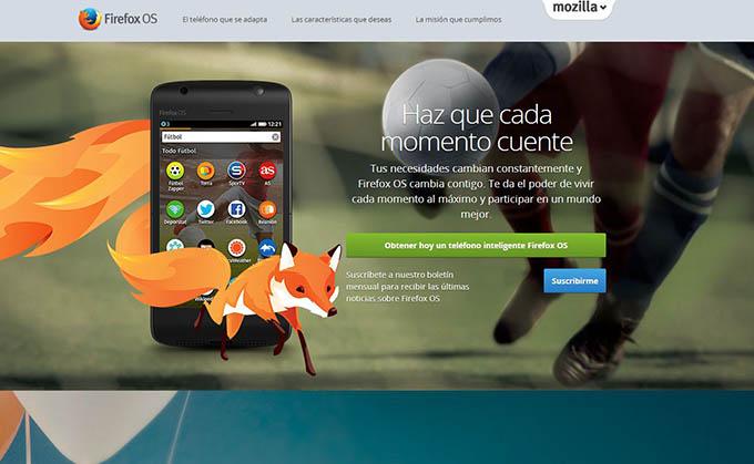 Mozilla regala un smartphone a todo desarrollador que porte una aplicación a Firefox OS - firefoxOS1