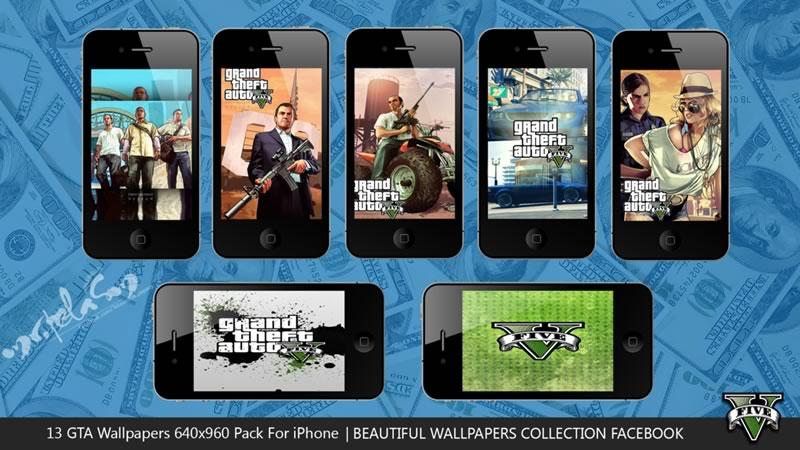 Wallpapers de Grand Theft Auto V para tu computadora - fondos-gta-v-iphone