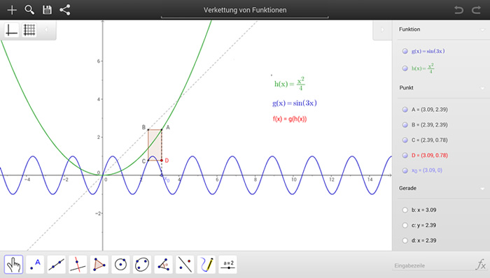 geogebra aplicacion de matematicas GeoGebra, programa para aprender o enseñar matemáticas multiplataforma