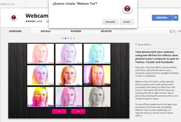 WebCam Toy, toma fotos con tu webcam y agrégale efectos divertidos - instalar-webcam-toy