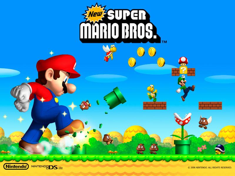 new super mario bros Los 10 videojuegos más vendidos de la historia