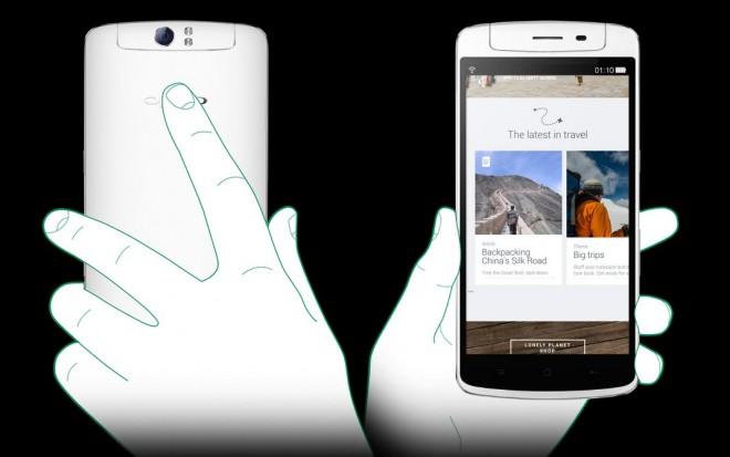 Oppo presenta el Oppo N1 con cámara rotatoria y CyanogenMod incluído - oppo-touch-