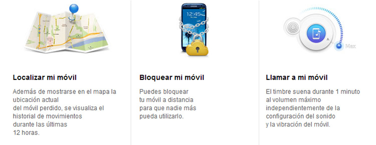 servicios find my mobile samsung Rastrear tu celular Samsung y bloquearlo a distancia con Findmymobile