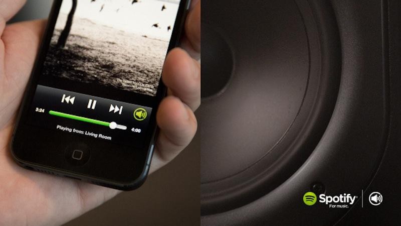 Spotify Connect, la nueva forma de enviar audio a equipos de sonido desde el celular - spotify-connect