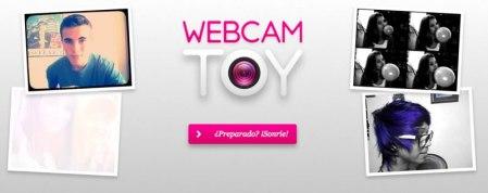 WebCam Toy, toma fotos con tu webcam y agrégale efectos divertidos