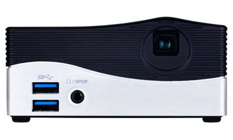 Es presentado la Ultra PC BRIX Projector de GIGABYTE con mini proyector LED de 75 lúmenes integrado