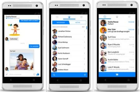 Facebook Messenger para Android se actualiza radicalmente y adopta un diseño similar a iOS 7