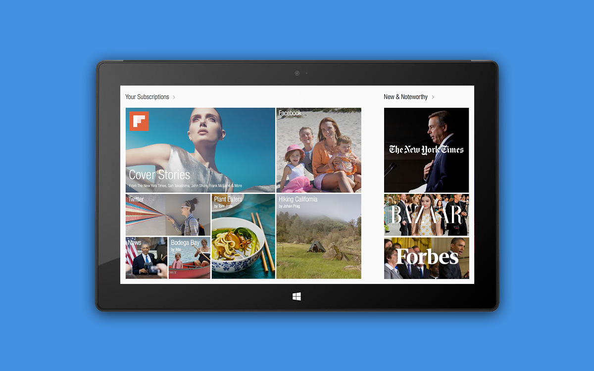 Flipboard Flipboard llegará a Windows 8 y RT para final de año