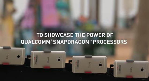 """130 HTC One fueron necesitados para llevar a cabo el famoso """"efecto de Matrix"""" - HTC-One-Efecto-Matrix"""