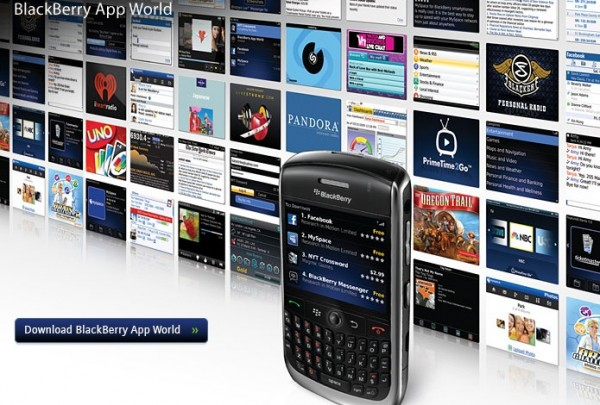 BlackBerry ya podrá cobrar aplicaciones en tu factura de Movistar en México - Movistar-Blackberry-App-World