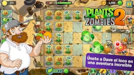 Plants vs Zombies 2 para Android disponible para descargar