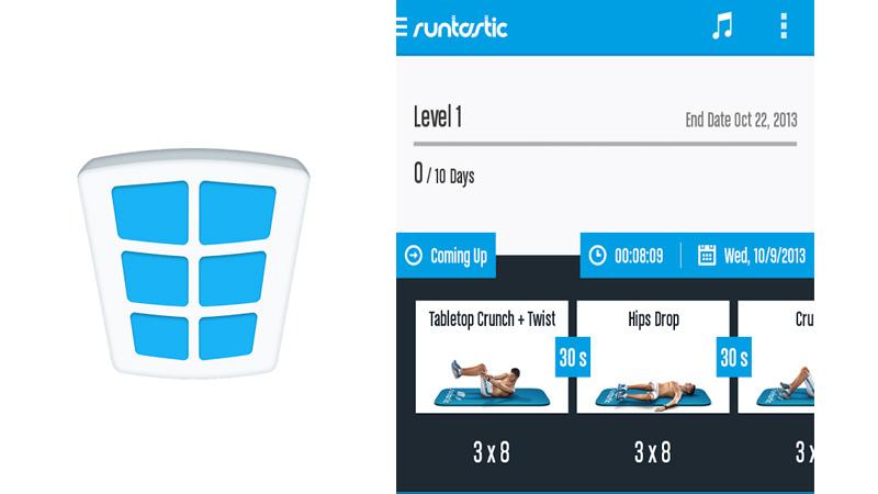 Runtastic Six Pack te ayuda a crear tu abdomen de lavadero - Runtastic-Six-pack