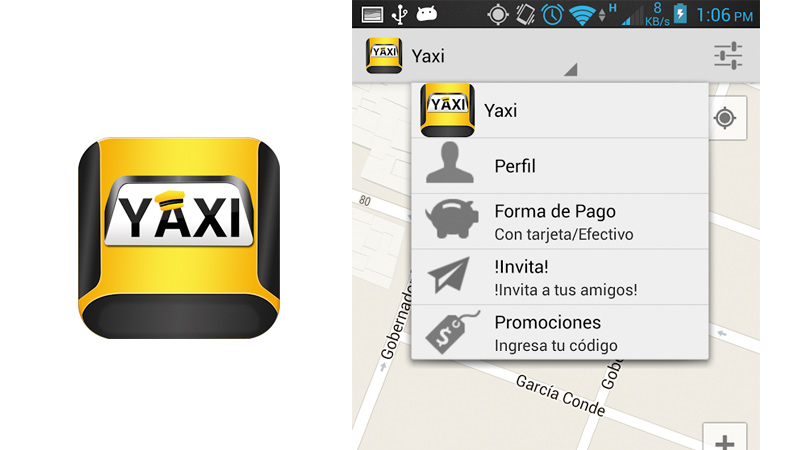 5 apps para viajar en Taxi Seguro en México, DF - Yaxi
