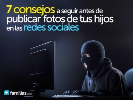 Consejos antes de publicar fotos de los hijos en redes sociales